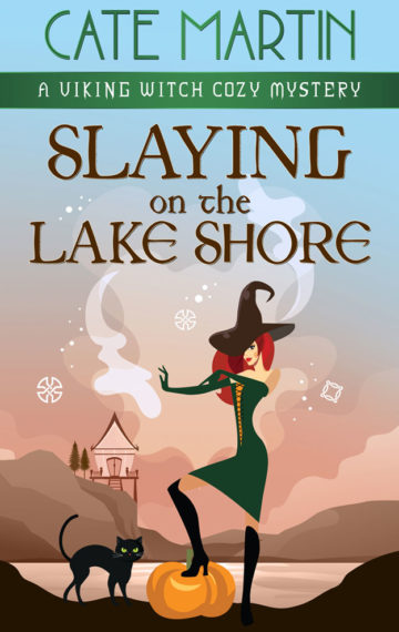 Slaying on the Lake Shore: A Viking Witch Cozy Mystery